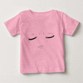 """I am a princess! "" Baby face Baby T-Shirt"