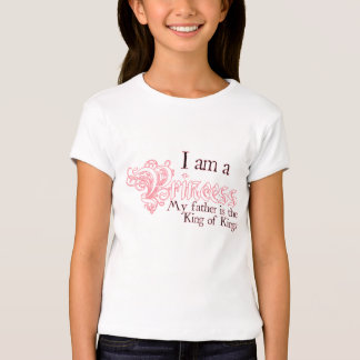 I am a Princess King of Kings Girls T-shirt