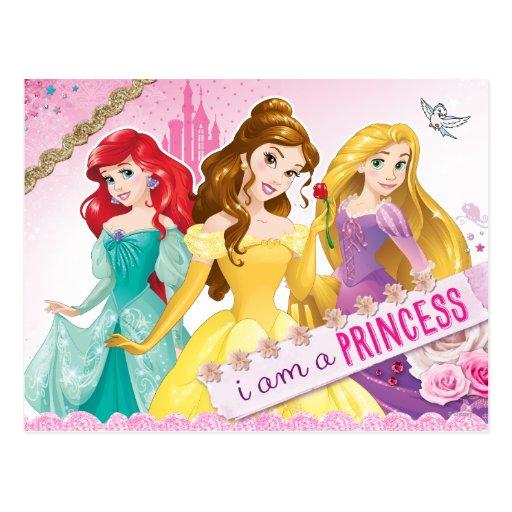 I am a Princess Postcard