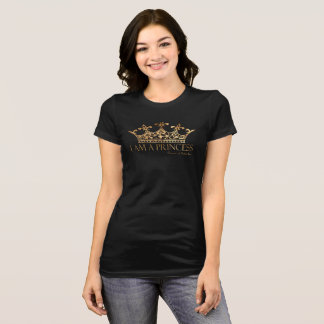 I Am A Princess w/Crown  Women's Bella+Canvas Tee