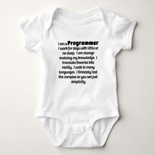 I Am A Programmer T-shirts