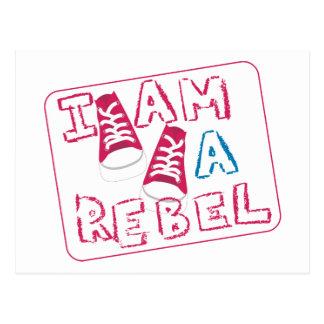 I Am A Rebel Kids Post Cards