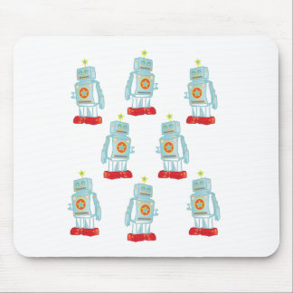 I am a robot army mouse pad