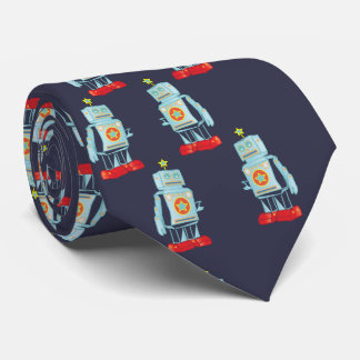 I am a robot army neck tie