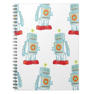 I am a robot army notebook