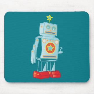 I am a robot mouse pad