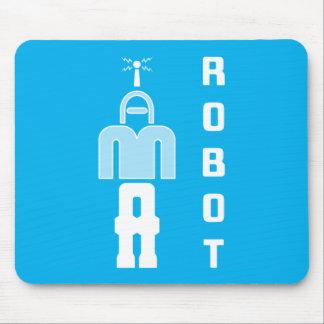 """""""I AM A ROBOT"""" Puzzle Mousepad"""