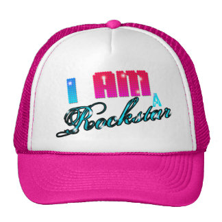 I AM A ROCKSTAR TRUCKER HAT
