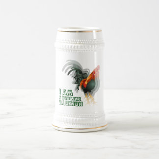I Am A Rooster Illusion Beer Stein