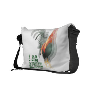 I Am A Rooster Illusion Courier Bags