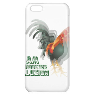 I Am A Rooster Illusion iPhone 5C Cases