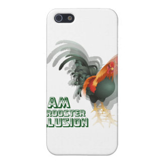 I Am A Rooster Illusion iPhone SE/5/5s Cover