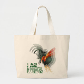 I Am A Rooster Illusion Jumbo Tote Bag