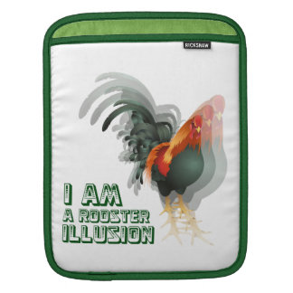 I Am A Rooster Illusion Sleeves For iPads