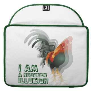 I Am A Rooster Illusion Sleeves For MacBooks