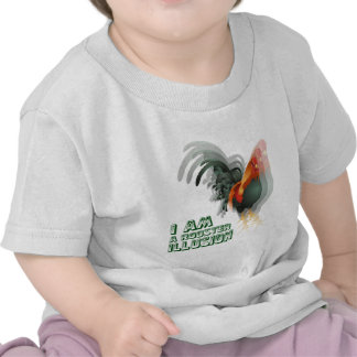 I Am A Rooster Illusion T Shirt