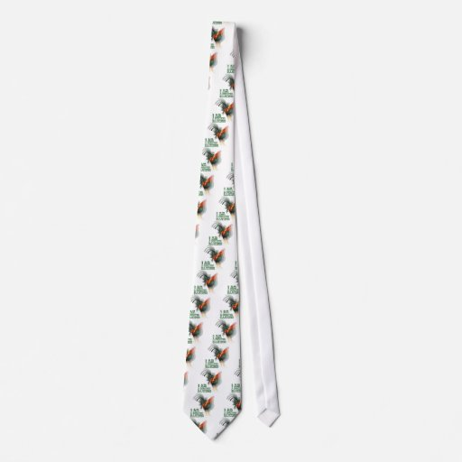 I Am A Rooster Illusion Tie