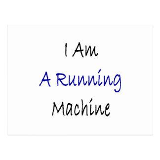 I Am A Running Machine Postcards