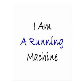 I Am A Running Machine Postcard