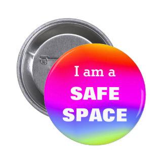 I am a SAFE SPACE Button