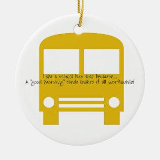 I Am A School Bus Aide Ornament