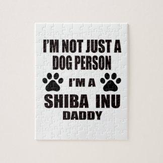 I am a Shiba Inu Daddy Jigsaw Puzzle