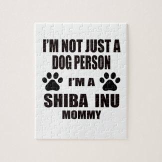 I am a Shiba Inu Mommy Jigsaw Puzzles
