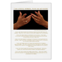 I Am A Social Worker, These Are My Hands Cards