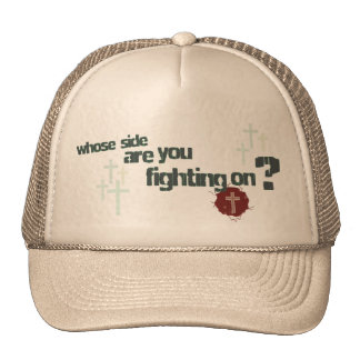 I am a Soldier Christian hat/cap Trucker Hat