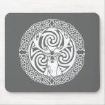I am a Stag: Snow Mouse Pad