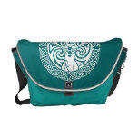 I am a Stag: Snow (Rear Text) Messenger Bag