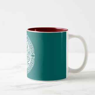 I am a Stag: Snow Two-Tone Coffee Mug