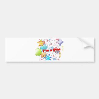 I am a STAR Bumper Sticker
