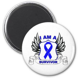 I am a Survivor - Anal Cancer Fridge Magnet