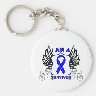 I am a Survivor - Anal Cancer Keychains