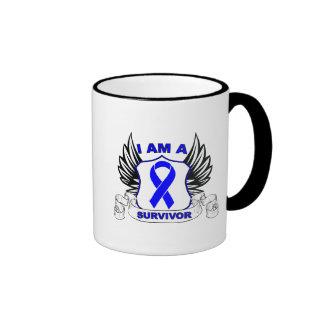 I am a Survivor - Anal Cancer Mugs