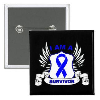 I am a Survivor - Anal Cancer Pins