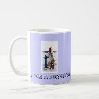 I AM A SURVIVOR CLASSIC WHITE COFFEE MUG