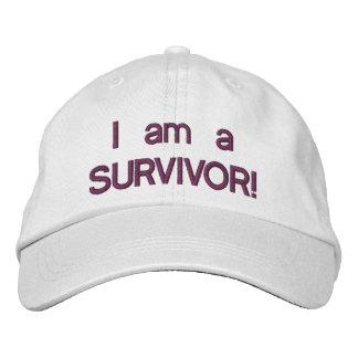 I am a survivor hat baseball cap