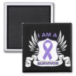I am a Survivor - Hodgkins Lymphoma Magnets