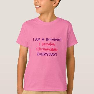 I Am A Survivor!, I Survive Fibromyalgia, EVERY... T-Shirt