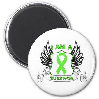 I am a Survivor - Non-Hodgkins Lymphoma Refrigerator Magnet