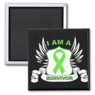 I am a Survivor - Non-Hodgkins Lymphoma Fridge Magnets