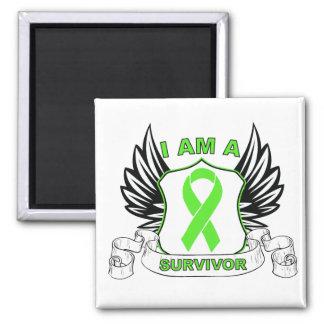 I am a Survivor - Non-Hodgkins Lymphoma Fridge Magnet