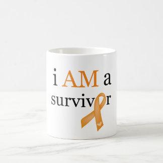 i AM a survivor (Orange) Coffee Mug