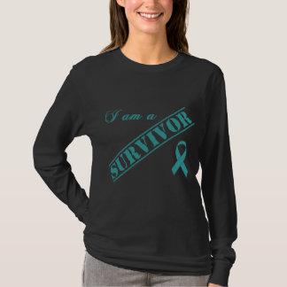 I am a Survivor - Teal Ribbon T-Shirt