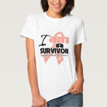 I am a Survivor - Uterine Cancer T-shirt