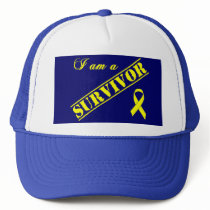 I am a Survivor - Yellow Ribbon Trucker Hat