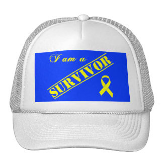 I am a Survivor - Yellow Ribbon Trucker Hat