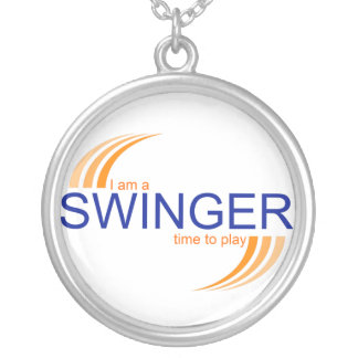 I Am A Swinger Necklace